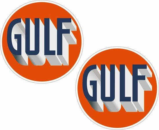 Picture of Gulf Decals / Sticker