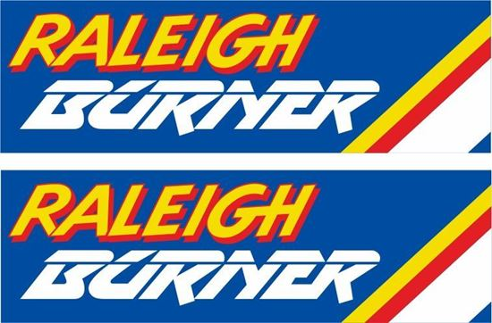 Picture of Raleigh Burner Decals / Stickers