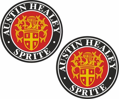 Picture of Austin Healy Sprite Decals / Stickers