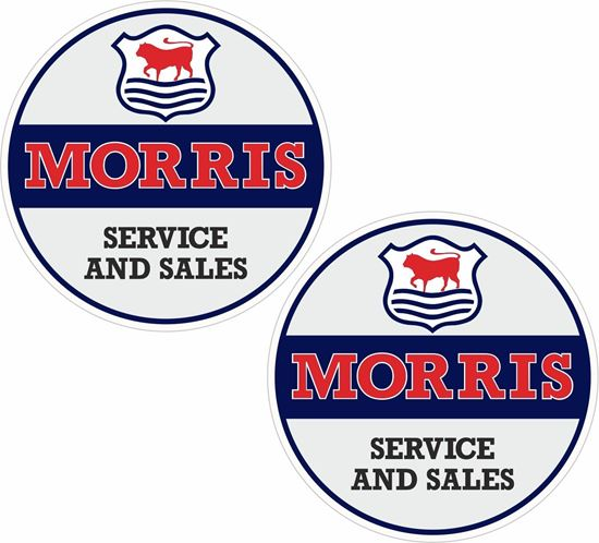 Picture of Morris sales and service Decals / Stickers