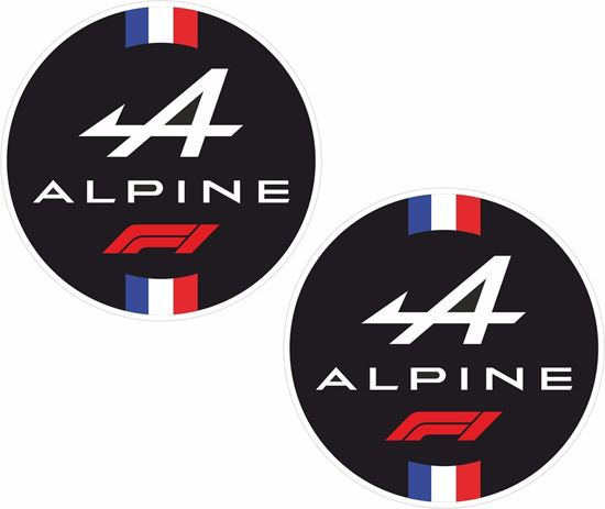 Picture of Alpine F1 Decals / Stickers