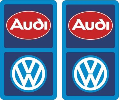 Picture of Audi VW Decals / Stickers