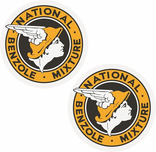 Picture of National British Benzole Decals / Stickers