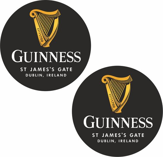 Picture of Guiness Decals / Stickers