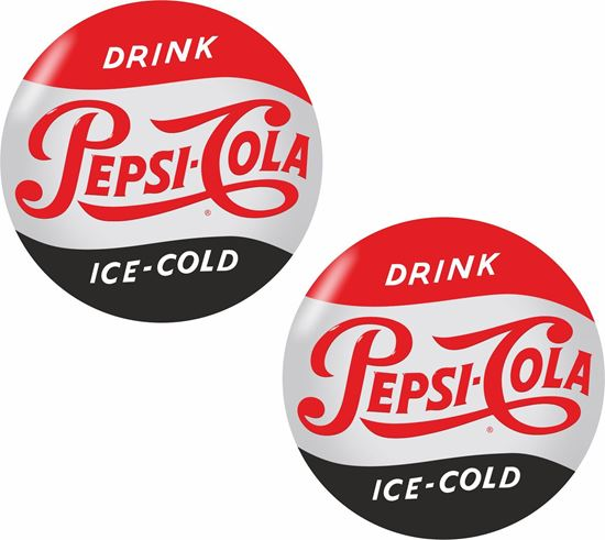 Picture of Pepsi Cola Decals / Stickers