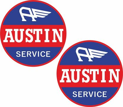Picture of Austin Service Decals / Stickers