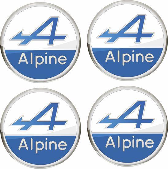 Picture of Alpine Wheel centre Gel Badges